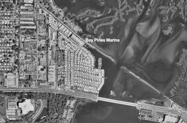Bay Pines Aerial Image